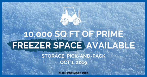 Freeze Space Available Fripp Warehousing